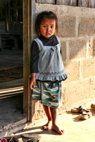 Child at School, Dong Deng Island, Laos