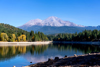 Mt. Shasta and Lake Siskiyou, California